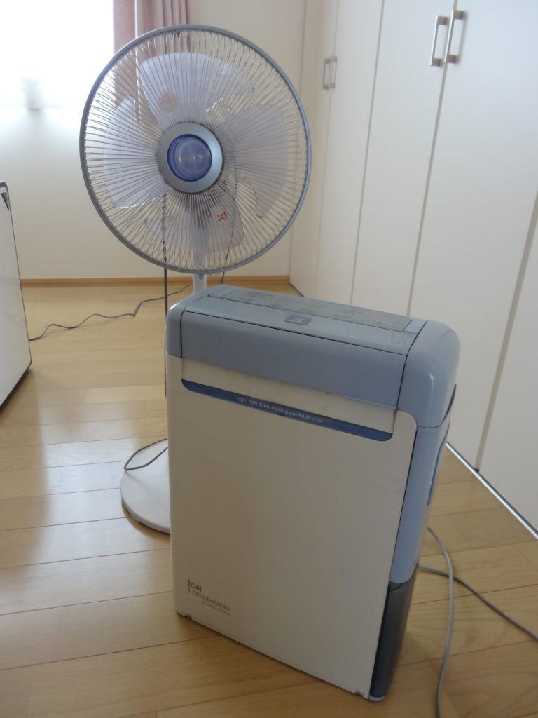 13年前の除湿器